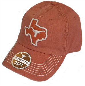 Texas Longhorns Tx Orange Slouch Fit Vega 2 Adustable Cap on Sale