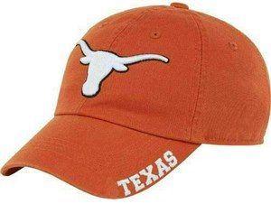 Texas Longhorns UT Orange Bevo Slouch Fit Adjustable Cap on Sale