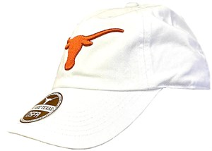 Texas Longhorns White Stemmons Low Profile Slouch Fit Adjustable Cap on Sale