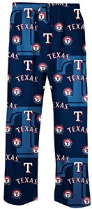 Texas Rangers Blue Lights Out MLB Mens Pajama Pants by Concepts Sports
