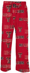 Texas Tech Red Raiders Men's Red Sweep Pajama Pants by Concepts Sports