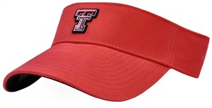 Texas Tech Red Raiders Red Collegiate Visor