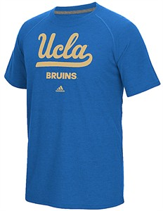 UCLA Bruins Adidas Bright Royal Loyal Fan Climalite Short Sleeve T Shirt