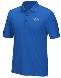UCLA Bruins Men's Adidas ADI Performance Climacool Golf Polo