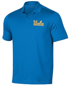 UCLA Bruins Mens Sport Royal Performance Polo Shirt by Under Armour on Sale