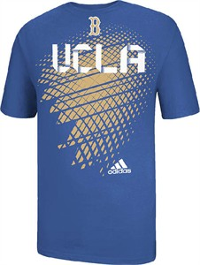 UCLA Bruins Mens Toxic Waste Lt. Blue T Shirt by Adidas