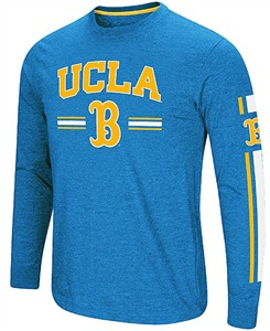 UCLA Bruins Sport Royal Colosseum Touchdown Pass Long Sleeve T Shirt