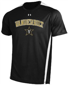 Under Armour Vanderbilt Commodores HeatGear Zone IV Shirt on Sale