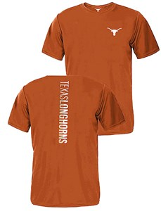 University of Texas Longhorns Mens 2 Sided Tenno Polyester T Shirt on Sale