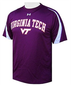 Virginia Tech Hokies Zone III Under Armour Shirt