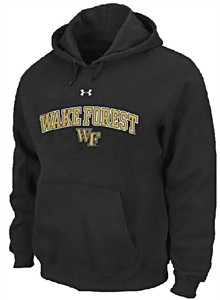 Wake Forest Demon Deacons Performance ColdGear Hooded Sweatshirt by Under Armour