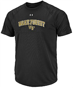 Wake Forest Demon Deacons Poly Dry HeatGear NuTech Performance Shirt by Under Armour