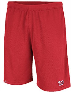 Washington Nationals Men's Team Issued MLB Training Shorts by Majestic