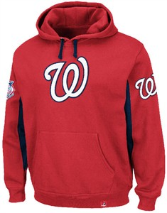 Washington Nationals MLB Major Play Pullover Hoodie by Majestic