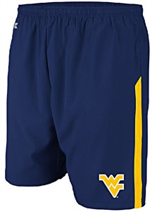 West Virginia Mountaineers Performance Dry Rush Training Shorts by Colosseum