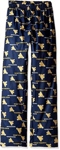 West Virginia Mountaineers Youth Team Colorway Blue Pajama Pants