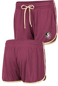Women's Florida State Seminoles Toulon Synthetic Athletic Shorts