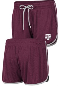 Women's Texas A&M Aggies Maroon Toulon Synthetic Athletic Shorts