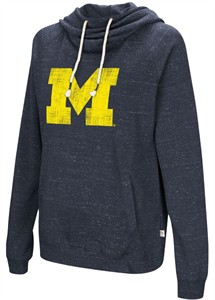 Womens Michigan Wolverines I'll Go With You Hoodie