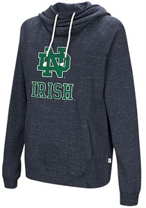 Womens Notre Dame Fighting Irish I'll Go With You Hoodie