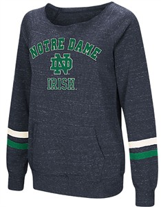 Womens Notre Dame Fighting Irish Waters Warm Pullover Sweatshirt