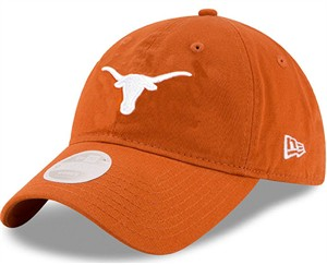 Womens Texas Longhorns New Era 9Twenty  Low Profile Slouch Adjustable Cap on Sale