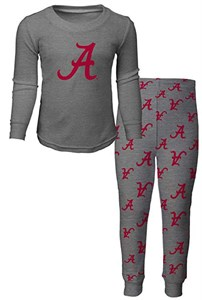Youth Alabama Crimson Tide Sleepwear Long Sleeve Tee & Pants Set