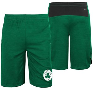 Youth Boston Celtics NBA Green Free Throw Shorts