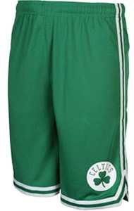 Youth Boston Celtics New Green Replica Basketball Shorts by Outer Stuff
