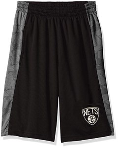 Youth Brooklyn Nets Rebound Sublimated Athletic Shorts