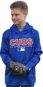 Youth Chicago Cubs  Drive Polyester Hoodie Sweatshirt