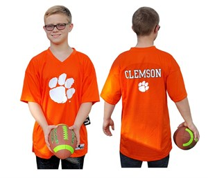 Youth Clemson Tigers Orange Replica Football Jersey by Outerstuff