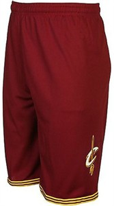 Youth Cleveland Cavaliers Burgundy Replica Basketball Shorts By Outerstuff