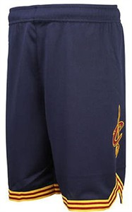 Youth Cleveland Cavaliers Navy Replica Basketball Shorts By Outerstuff