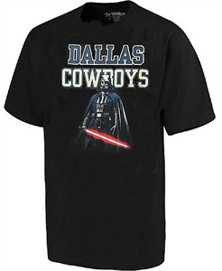 aa22d1df Youth Dallas Cowboys Black Vader Presence Short Sleeve T Shirt ...