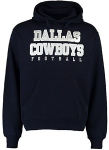 Youth Dallas Cowboys Navy Practice Hoodie Sweatshirt