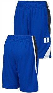 Youth Duke Blue Devils Royal Colosseum Rio Polyester Shorts