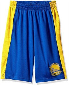 Youth Golden State Warriors Rebound Sublimated Athletic Shorts