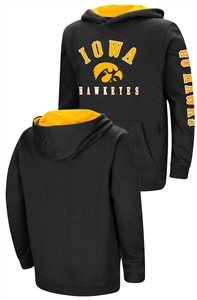 Youth Iowa Hawkeyes Berminator Zone II Hoodie Sweatshirt
