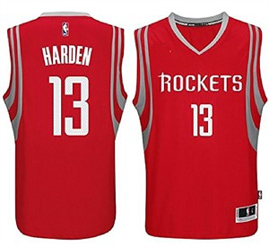 Youth James Harden Houston Rockets Red Replica Basketball Jersey by  Outerstuff  a5f36a4b9fa2