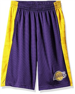 Youth Los Angeles Lakers Rebound Sublimated Athletic Shorts