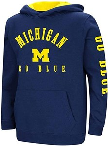 Youth Michigan Wolverines Berminator Zone II Hoodie Sweatshirt