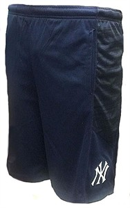 Youth New York Yankees Navy Caught Looking Polyester Shorts