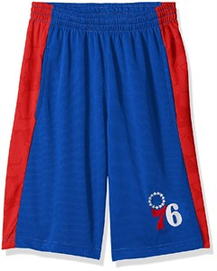 Youth Philadelphia 76ers Rebound Sublimated Athletic Shorts