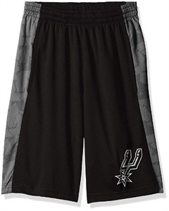 Youth San Antonio Spurs  Rebound Sublimated Athletic Shorts