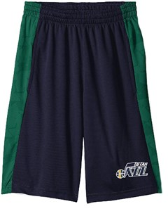 Youth Utah Jazz Rebound Sublimated Athletic Shorts